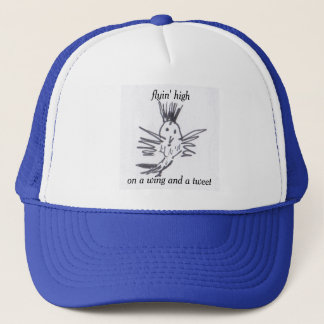 a hat for the high flyin' tweeter