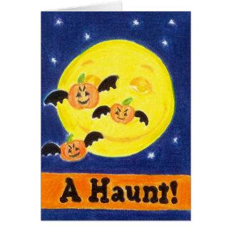 A Haunt! Greeting Card