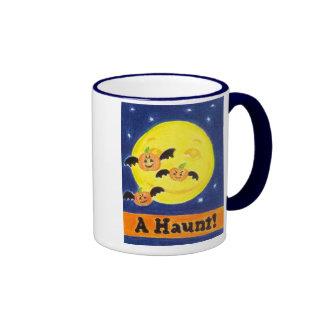 A Haunt! Ringer Mug