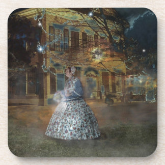 A Haunted Tale in Dahlonega Coaster