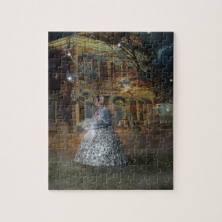 A Haunted Tale in Dahlonega Jigsaw Puzzle