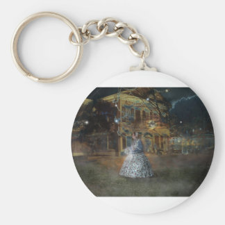 A Haunted Tale in Dahlonega Key Ring