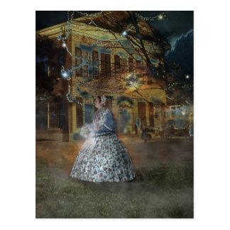 A Haunted Tale in Dahlonega Postcard