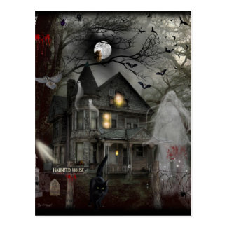 A Haunted Tale Postcard