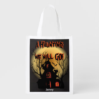 A Haunting we will GO! Trick or Treat Bag