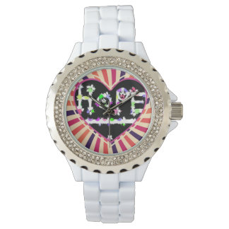 A heart full of hope wristwatches