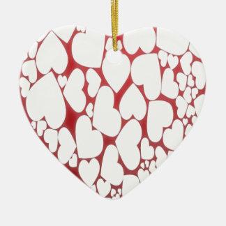 A Heart Full Of Love Ceramic Heart Decoration