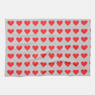 A Heart of Love and Affection Hand Towel
