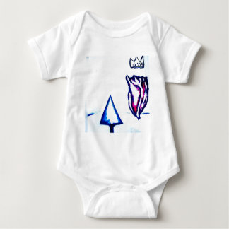 A Heart's Victory by Luminosity Baby Bodysuit