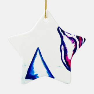 A Heart's Victory by Luminosity Ceramic Ornament