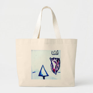 A Heart's Victory by Luminosity Large Tote Bag