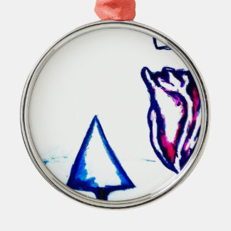 A Heart's Victory by Luminosity Metal Ornament