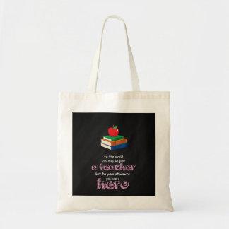 A hero budget tote bag