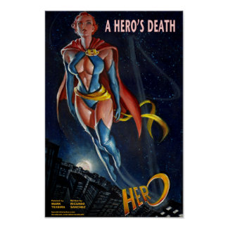 A HERO'S DEATH Poster