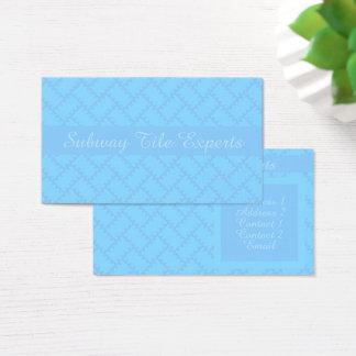 A Herringbone Pattern 14 Business Card