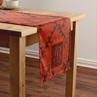 A Herringbone Pattern 15 Short Table Runner