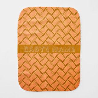 A Herringbone Pattern 8 Burp Cloth