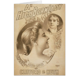 A High Born Lady, 'Clifford & Huth', Maud Huth Card