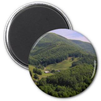 A highland pasture / Maggie Valley, North Carolina Magnet