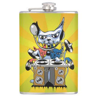 a hip flask