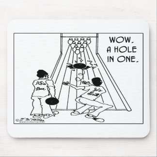 A Hole In One! Mouse Pads