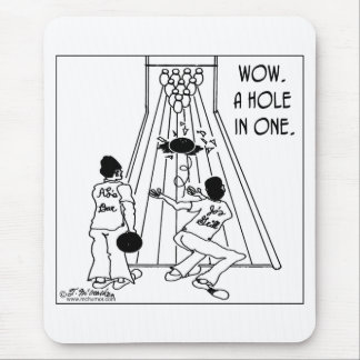 A Hole In One! Mouse Pad