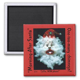a Holidaze Bizarre Santa magnet