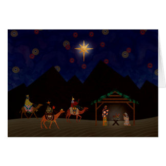 A HOLY NIGHT IN BETHLEHEM CARD