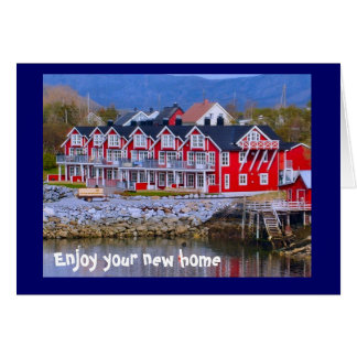 A home by the water card