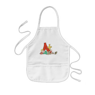 A+ Honor Student Kids Apron