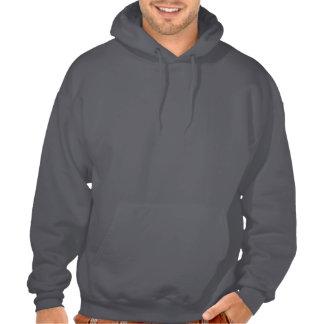 a hoodie ,look stylish