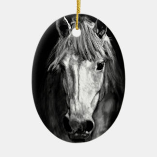 A Horse Called Elvis Ceramic Ornament