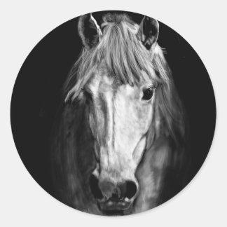 A Horse Called Elvis Classic Round Sticker