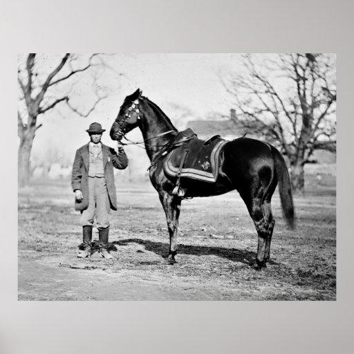 A Horse Named Cincinnati, 1865 Poster