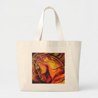 A Horse of a Different Color Jumbo Tote Bag