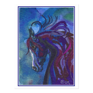 A Horse of Different Colors Postcard