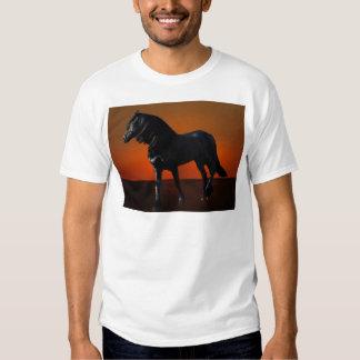 A horses sunset romp t-shirt