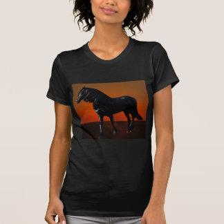 A horses sunset romp t shirt