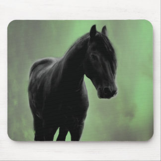 A horses tranquility mouse pad