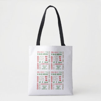 A Host Of Wishes Christmas Tote Bag