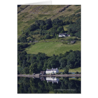A House Along The Water Card