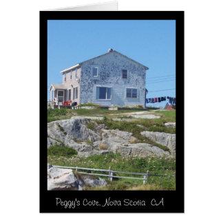A House on the Hilltop Card