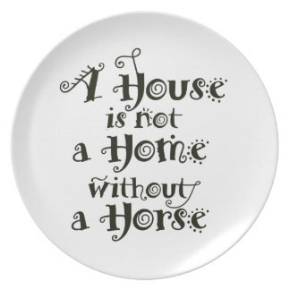 A House without Horse Plate