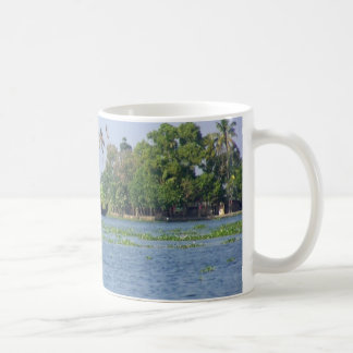 A Houseboat in backwaters in Kerala Coffee Mug