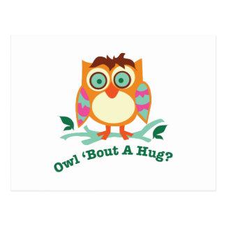 A Hug Postcard