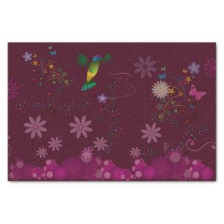A Hummingbird Painter Tissue Paper