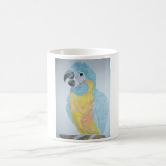 A hungry baby Macaw Parrot Coffee Mug