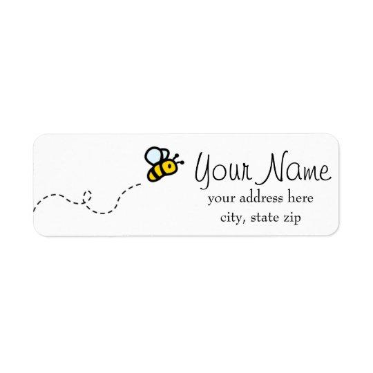 A Hunny of a Label Return Address Label