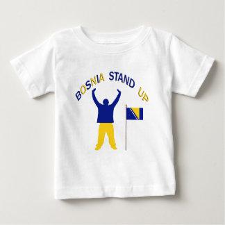 A Inspirational Bosnia Stand up Baby T-Shirt