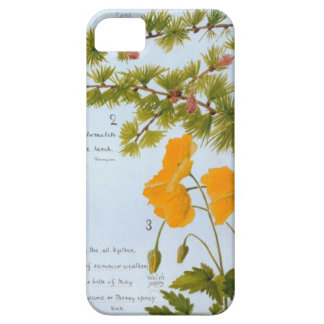A iPhone 5 Case Nature Journal Flora and Fauna 1